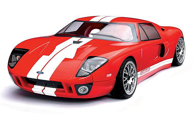 ����� Ford GT Painted Red 190mm (TTRPD8266) (������� ��� ����������)