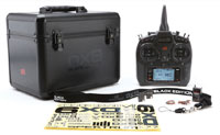 Spektrum DX9 Black Edition DSMX with AR9020 Receiver & Case 2.4GHz