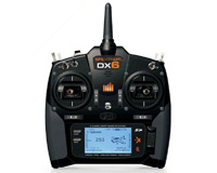Spektrum DX6 DSMX 6 Channel Full Range AR610 without Servo 2.4GHz