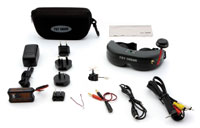 Spektrum Ultra Micro FPV System with Teleporter V4 Headset 5.8GHz