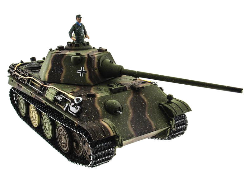 Радиоуправляемый танк Taigen Panther Type F Airsoft RC Tank 1:16 Metal with Smoke 2.4GHz (TG3879F-1HC) (нажмите для увеличения)