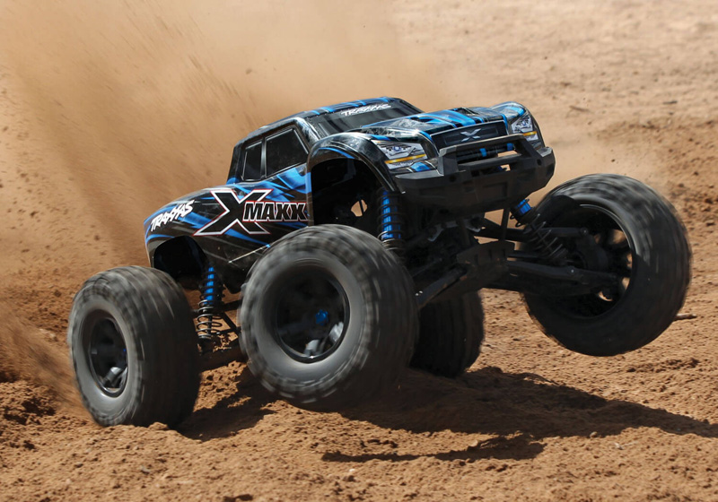 Радиоуправляемая машина Traxxas X-Maxx Brushless Monster Truck with TQi Radio & TSM 2.4GHz 4WD RTR (TRA77076-4) (нажмите для увеличения)