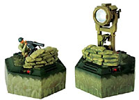 US Anti-Tank IR Sensor with Machine Gun Emplacement 1:24 Scale (нажмите для увеличения)