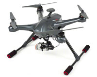 Walkera Scout X4 FPV 2 Quadcopter with Devo F12E, G3D, iLook+, Ground Station 2.4GHz/5.8GHz RTF