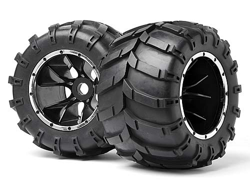 ����� Maverick Mounted Wheels and Tyres Blackout MT 2pcs (MV24107) (������� ��� ����������)