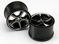 Wheels Gemini 3.8 Black Chrome HEX14mm Revo/Maxx 2pcs