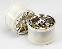 Wheels SS Split Spoke 3.8 Chrome Revo/Maxx 2pcs