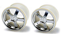 Wheels Hurricane 3.8 Chrome Revo/Maxx 2pcs
