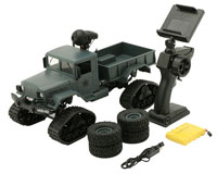 Aosenma WPL M35-A2 RC Climbing Load Truck 1:16 2.4GHz with WiFi Camera