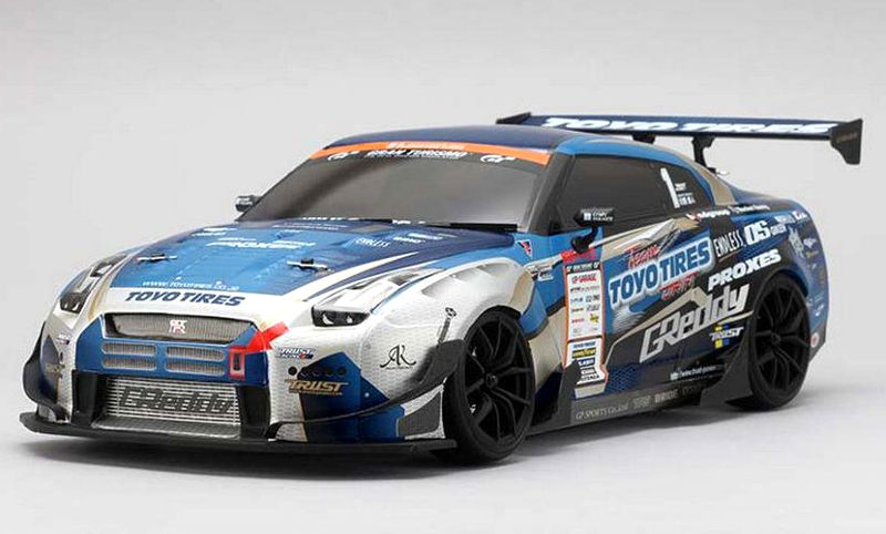 ����� ��� ����������� Yokomo Nissan GTR GReddy R35 SPEC-D Clear Body Set (YOK-SD-GR35BS) (������� ��� ����������)