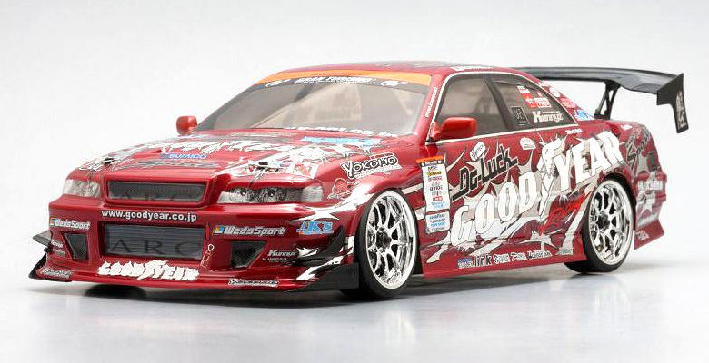 Кузов для автомоделей Yokomo Toyota Chaser GoodYear Racing Kunnyz Clear Body Set (YOK-SD-KU2SA) (нажмите для увеличения)