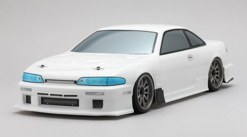 Кузов для автомоделей Yokomo Nissan 1093SPEED S14 Silvia Clear Body (YOK-SD-1093B) (нажмите для увеличения)