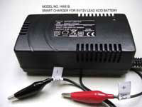 HopWo Switching Mode Battery Charger for Lead Acid 6/12V 0.5-3.0A